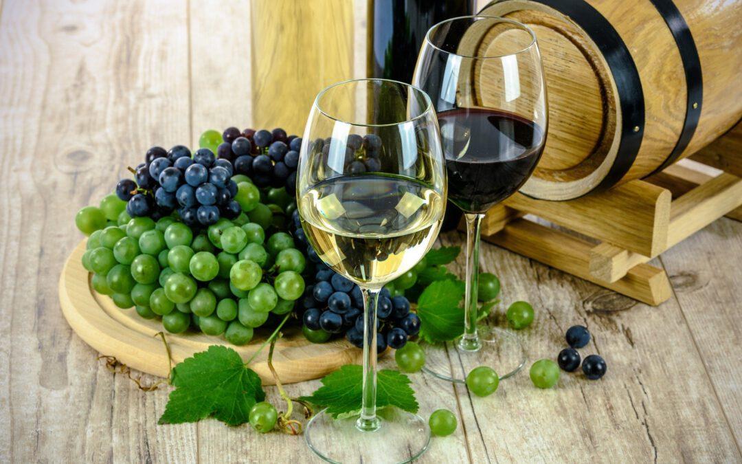 De wijnproductie